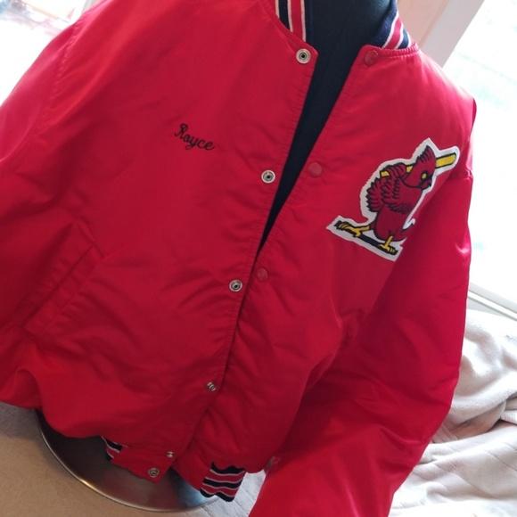 5dc09b51 Vintage 80s starter jacket St. Louis cardinals